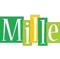Mille lemonade logo