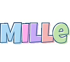 Mille pastel logo