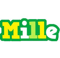 Mille soccer logo