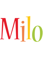 Milo birthday logo