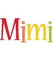 Mimi birthday logo