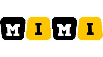 Mimi boots logo