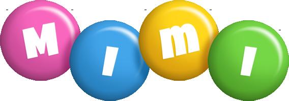Mimi candy logo