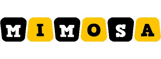 Mimosa boots logo