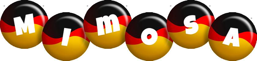 Mimosa german logo