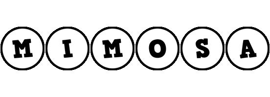 Mimosa handy logo