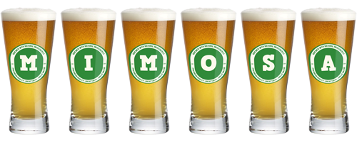 Mimosa lager logo