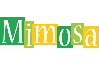 Mimosa lemonade logo