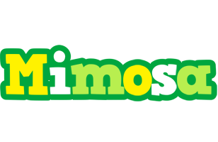 Mimosa soccer logo