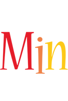 Min birthday logo