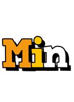 Min cartoon logo