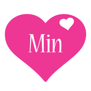 Min love-heart logo