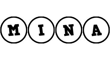 Mina handy logo