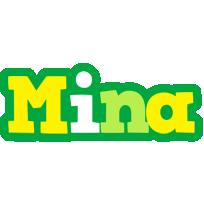 Mina soccer logo
