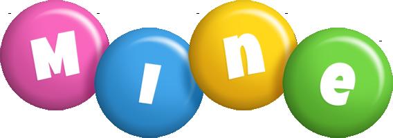 Mine candy logo