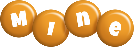 Mine candy-orange logo