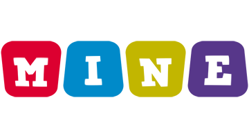 Mine daycare logo