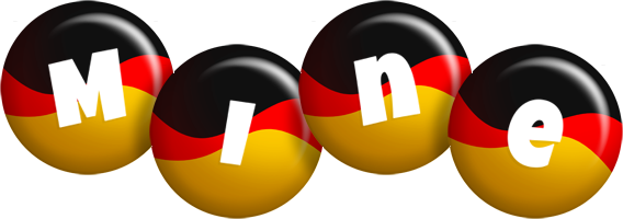 Mine german logo