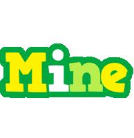 Mine soccer logo