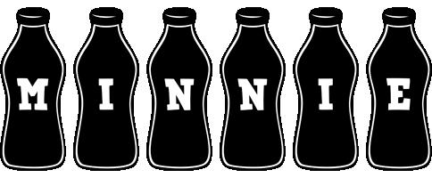 Minnie bottle logo