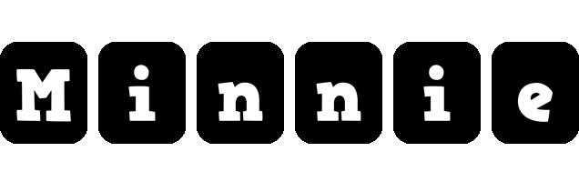 Minnie box logo