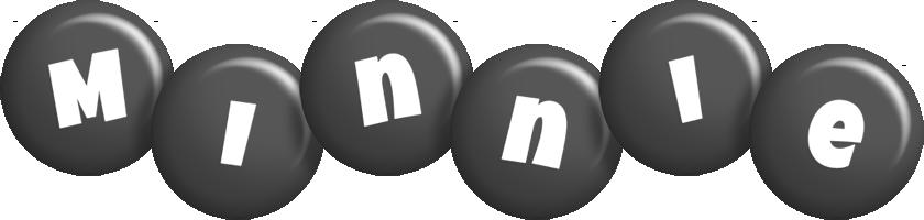 Minnie candy-black logo