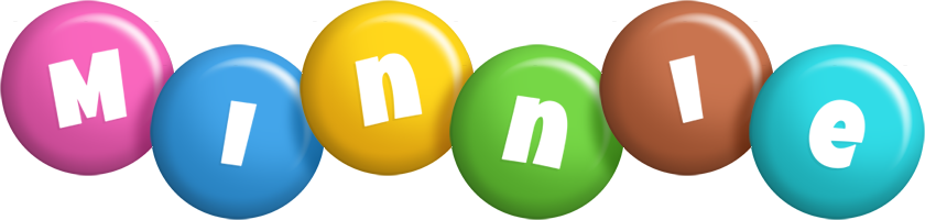 Minnie candy logo