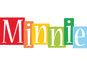 Minnie colors logo