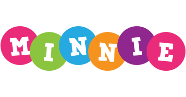 Minnie friends logo