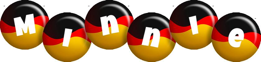 Minnie german logo