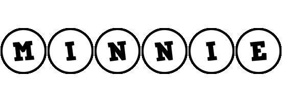 Minnie handy logo
