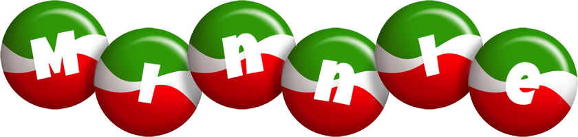 Minnie italy logo