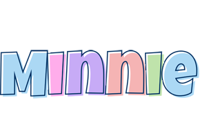 Minnie pastel logo