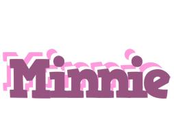 Minnie relaxing logo