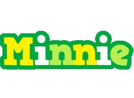 Minnie soccer logo