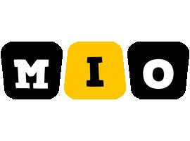 Mio boots logo