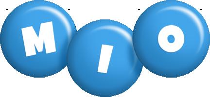 Mio candy-blue logo