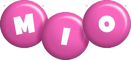 Mio candy-pink logo