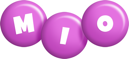 Mio candy-purple logo