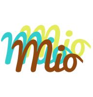 Mio cupcake logo
