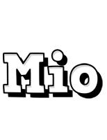 Mio snowing logo