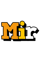 Mir cartoon logo