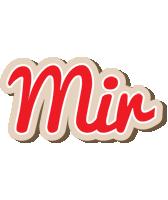 Mir chocolate logo