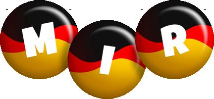 Mir german logo