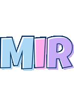 Mir pastel logo