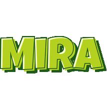 Mira summer logo