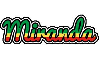 Miranda african logo