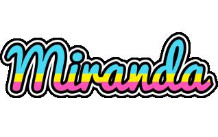 Miranda circus logo