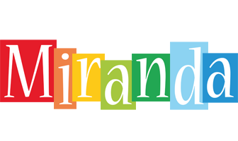 Miranda colors logo