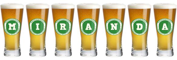 Miranda lager logo